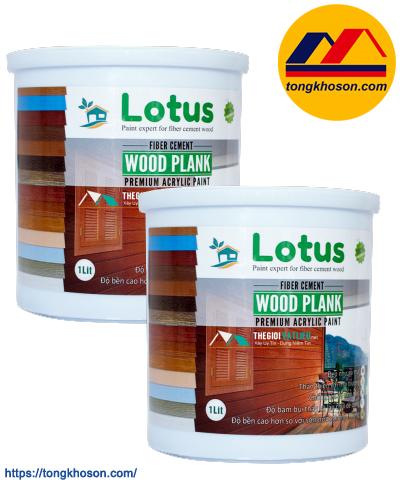 Sơn phủ giả gỗ Lotus Wood Plank