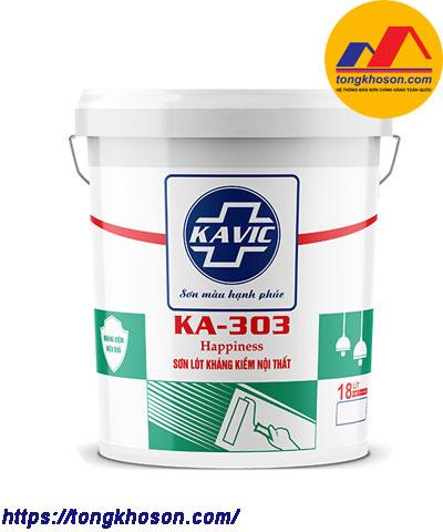 Sơn lót kháng kiềm Kavic nội thất KA-303