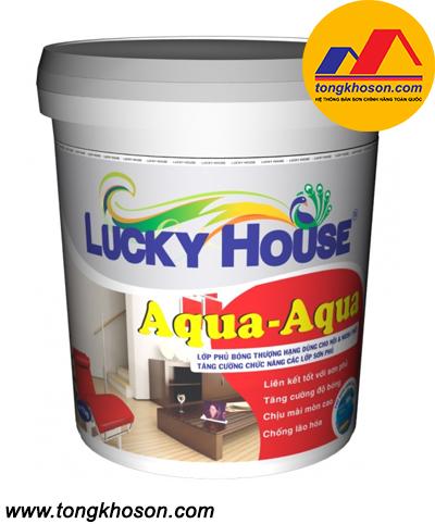 Sơn Lucky House Aqua không màu