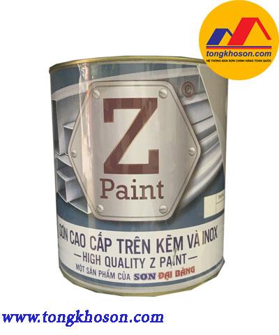 Sơn cao cấp trên kẽm và inox Z Paint
