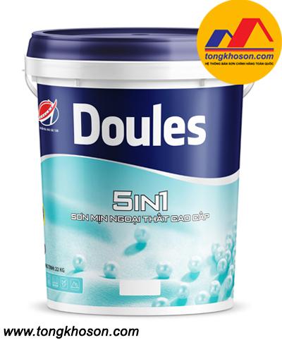 Sơn ngoại thất mịn Doules 5IN1 cao cấp