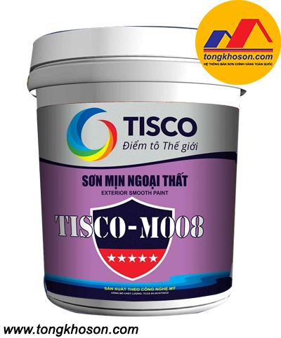 Sơn mịn ngoại thất Tisco-M008
