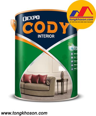 Sơn Oexpo Cody nội thất láng mịn
