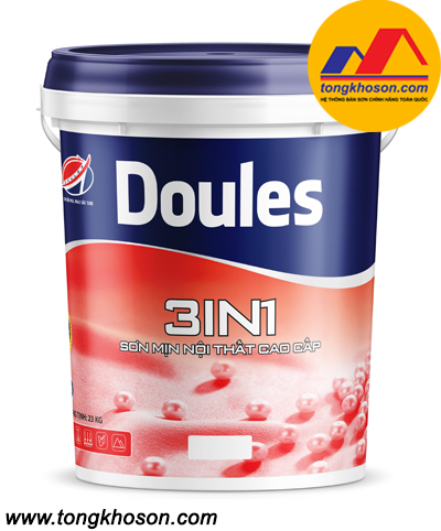 Sơn Doules 3in1 mịn nội thất cao cấp