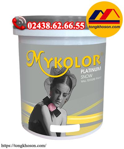 Sơn Mykolor Platinum Snow - sơn hiệu ứng pha lê tuyết