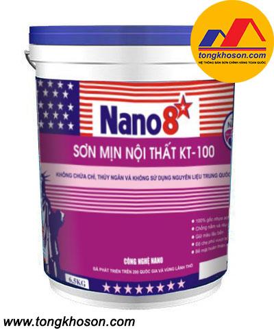 Sơn Nano 8 sao KT100 nội thất mịn