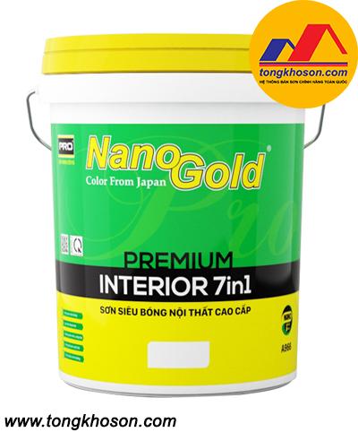 Sơn NanoGold 7in1 nội thất siêu bóng