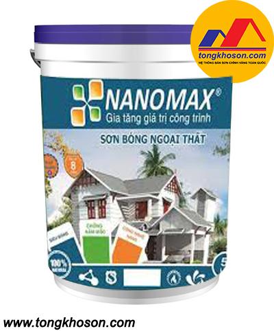 Sơn Nanomax ngoại thất bóng