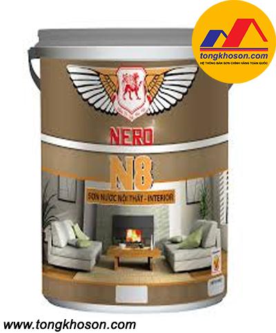 Sơn Nero N8 nội thất mịn