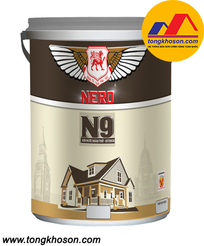 Sơn Nero N9 ngoại thất bóng mờ