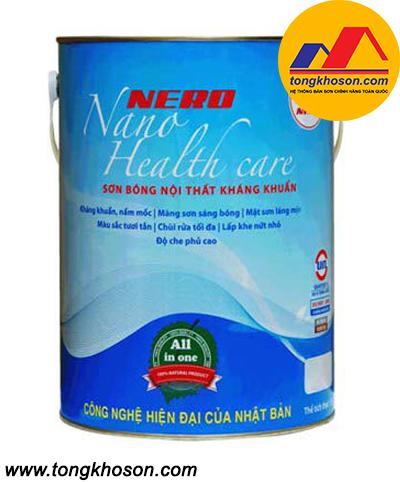 Sơn Nero Nano Health Care nội thất bóng kháng khuẩn