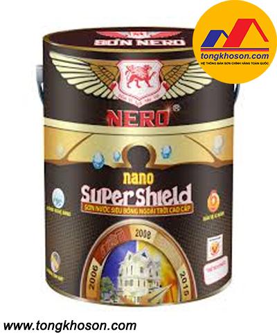 Sơn Nero ngoại thất siêu bóng Nano Super Shield