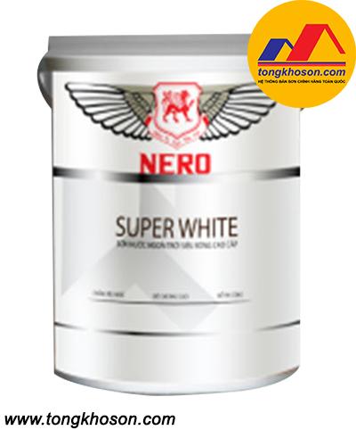 Sơn NERO siêu trắng nội thất dùng cho trần nhà