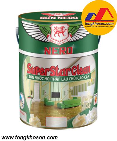 Sơn Nero Super Star Clean nội thất lau chùi