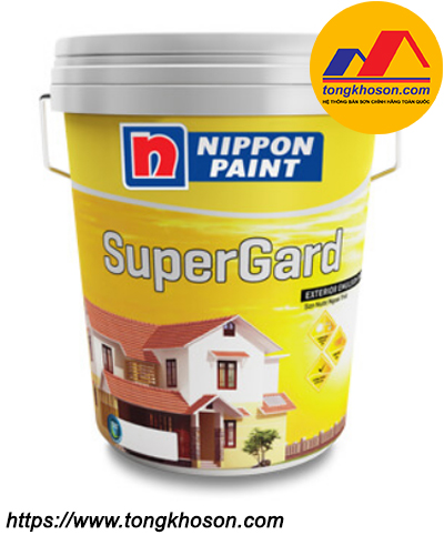 Sơn Nippon Supergard ngoại thất bóng mờ