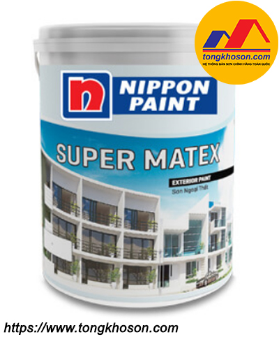 Sơn Nippon Super Matex ngoại thất mịn