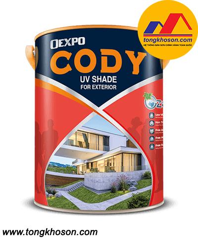 Sơn Expo Cody ngoại thất cao cấp bóng, bền màu tối đa