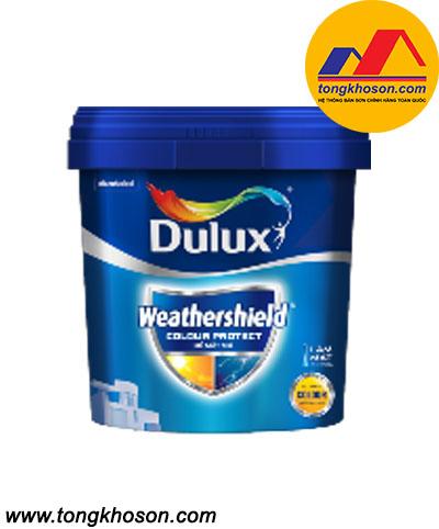 Dulux Weathershield Colour Protect bề mặt mờ