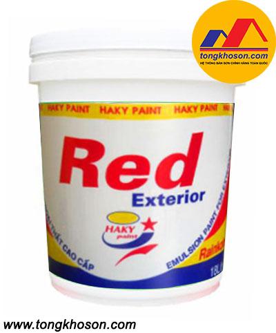 Sơn Haky ngoại thất Red Exterior
