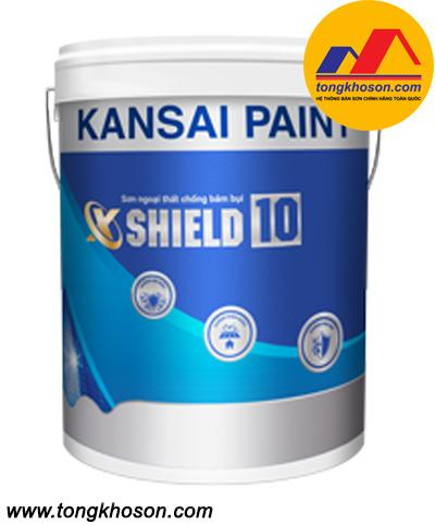 Sơn ngoại thất chống bám bụi X-SHIELD 10 Kansai