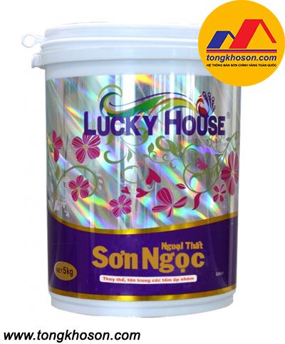 Sơn ngọc Lucky House ngoại thất