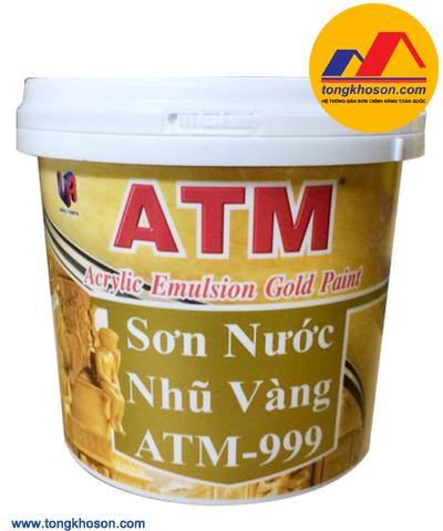 Sơn nhũ vàng ATM gốc nước