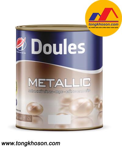 Sơn nhũ vàng bạc đồng Doules - Metallic cao cấp