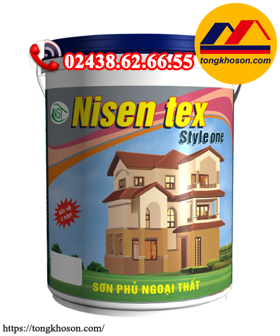 Sơn Nisen tex Style One ngoại thất cao cấp