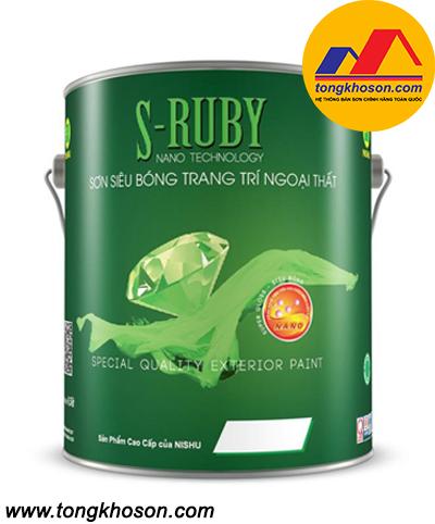 Sơn Nishu S-Ruby ngoại thất siêu hạng