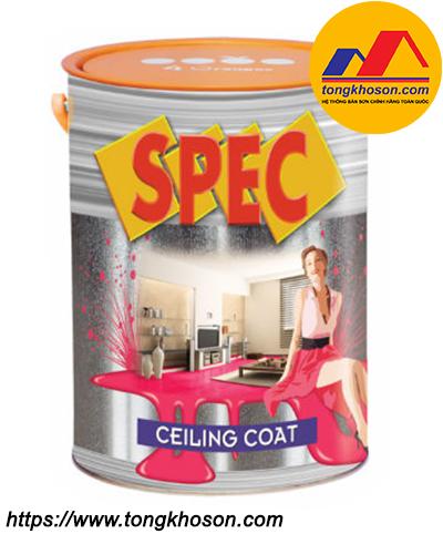 Sơn trắng trần Spec Ceiling Coat nội thất
