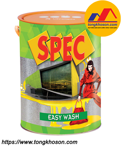 Sơn Spec Easy Wash nội thất lau chùi