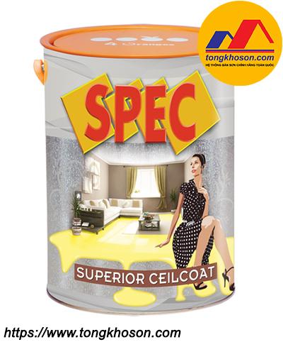 Sơn siêu trắng trần Spec Superior Ceilcoat nội thất