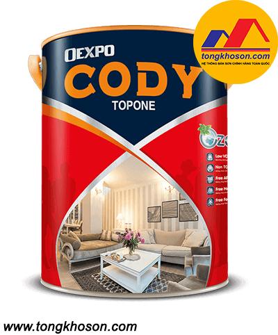 Sơn Oexpo Cody nội thất cao cấp bóng cứng