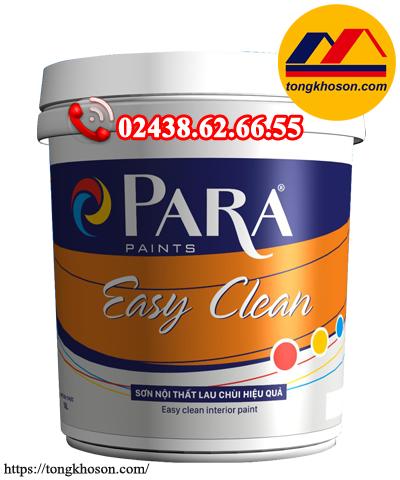 Sơn Para Easy Clean nội thất bóng lau chùi hiệu quả