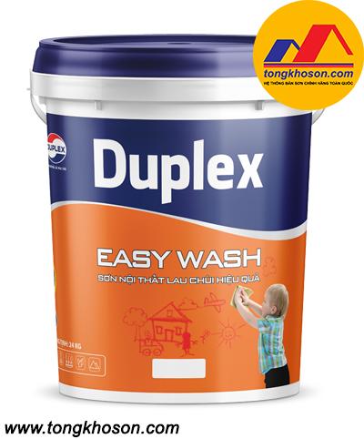 Sơn nội thất lau chùi hiệu quả Duplex