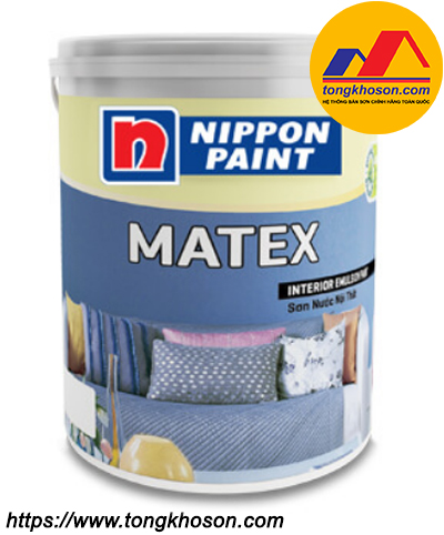 Sơn Nippon Matex nội thất mịn