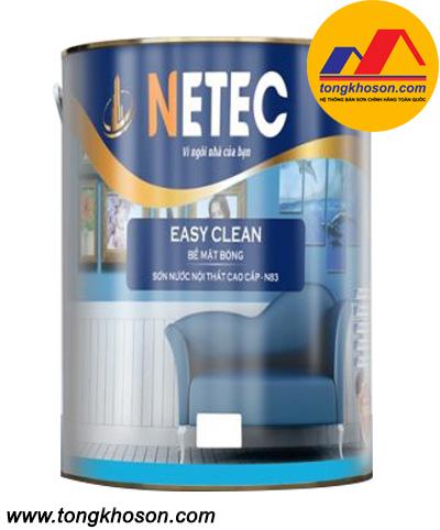 Sơn Netec bề mặt bóng cao cấp nội thất N-83