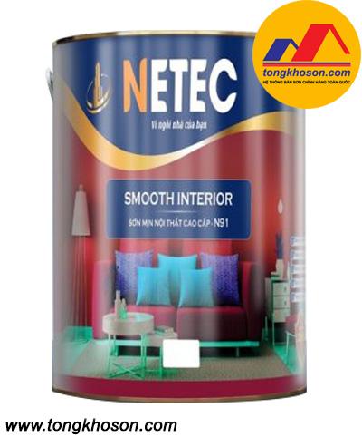 Sơn Netec siêu mịn nội thất cao cấp N-91
