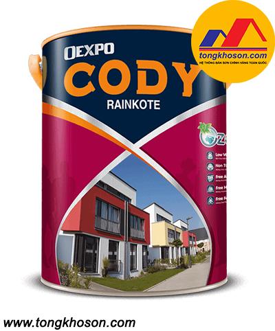 Sơn Oexpo Cody Rainkote ngoại thất