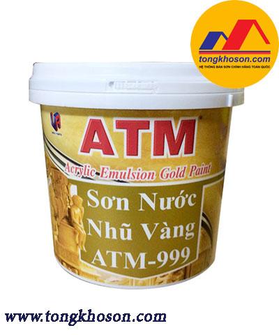 Sơn nước nhũ vàng ATM 999