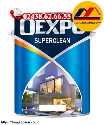 Sơn OExpo SuperClean siêu bóng ngoại thất