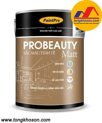 Sơn Paintpro Probeauty Matt nội thất bóng mờ