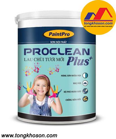 Sơn Paintpro Proclean nội thất lau chùi vượt trội