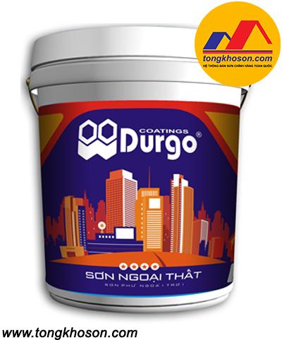 Sơn ngoại thất Durgo 4 sao bề mặt bóng