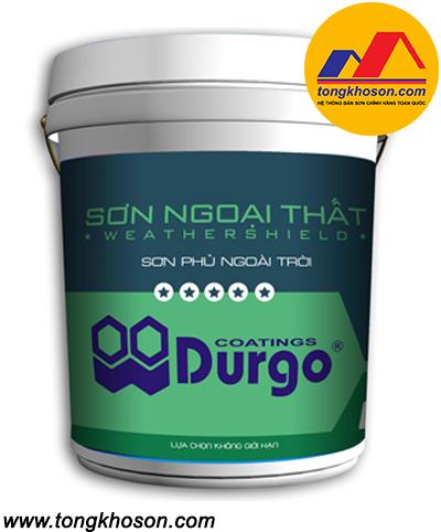 Sơn ngoại thất Durgo 5 sao siêu bóng