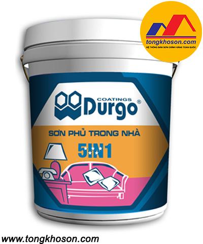 Sơn nội thất Durgo 5 sao siêu bóng