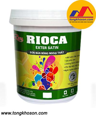 Sơn Rioca bán bóng ngoại thất EXTER SATIN