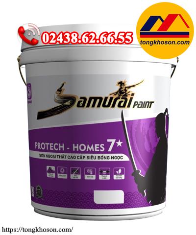 Sơn Samurai Protech Homes 7* ngoại thất siêu bóng