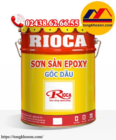 Sơn sàn Epoxy Rioca gốc dầu