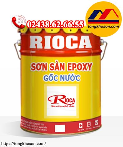 Sơn sàn Epoxy Rioca gốc nước